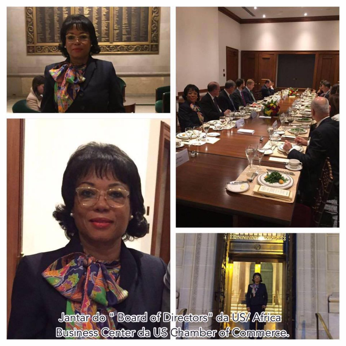 Dra. Maria Luísa Abrantes participa dos Fóruns empresariais da US/África Business Center da US Chamber of Commerce