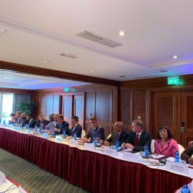 Reunião da camara de comércio Africa Estados Unidos da América