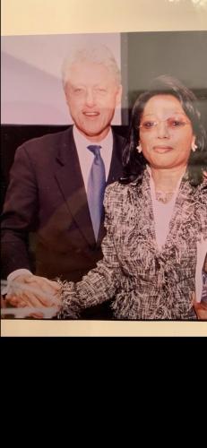 Com o Ex-Presidente Bill Clinton