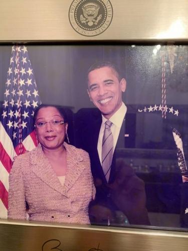 Com o Ex-Presidente Barack Obama
